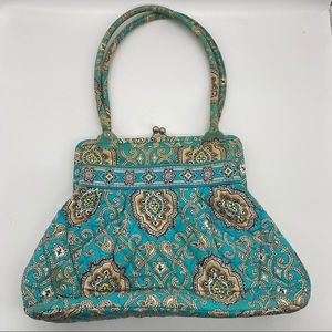 Vera Bradley Alice Bag in Retired Totally Turq